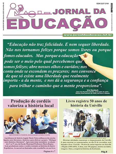 Jornal da Educação 290 - Outubro 2015