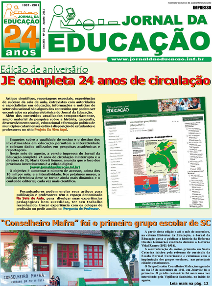 Edição Agosto/2011