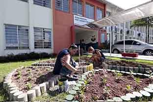 Escola Municipal Elizabeth Von Dreifuss, em Joinville,  foi reformada para receber os alunos