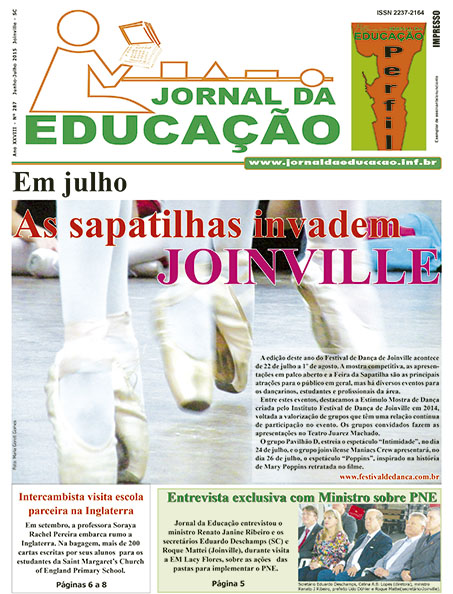 Edi��o 287 - Em entrevista exclusiva,  Ministro da Educa��o fala do PNE