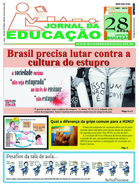 Jornal da Educação295 Maio 2016